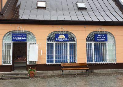 """<h3 style=""""text-align:center;"""">STORE NO 1 <br /> ul. Sobieskiego 9 - Nowy Sącz</h3>"""